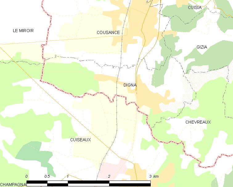 Digna locator map