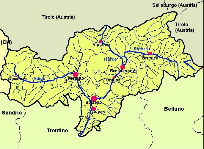 Bolzano Cartina.File Mappa Provincia Autonoma Di Bolzano Alto Adige Png Wikipedia
