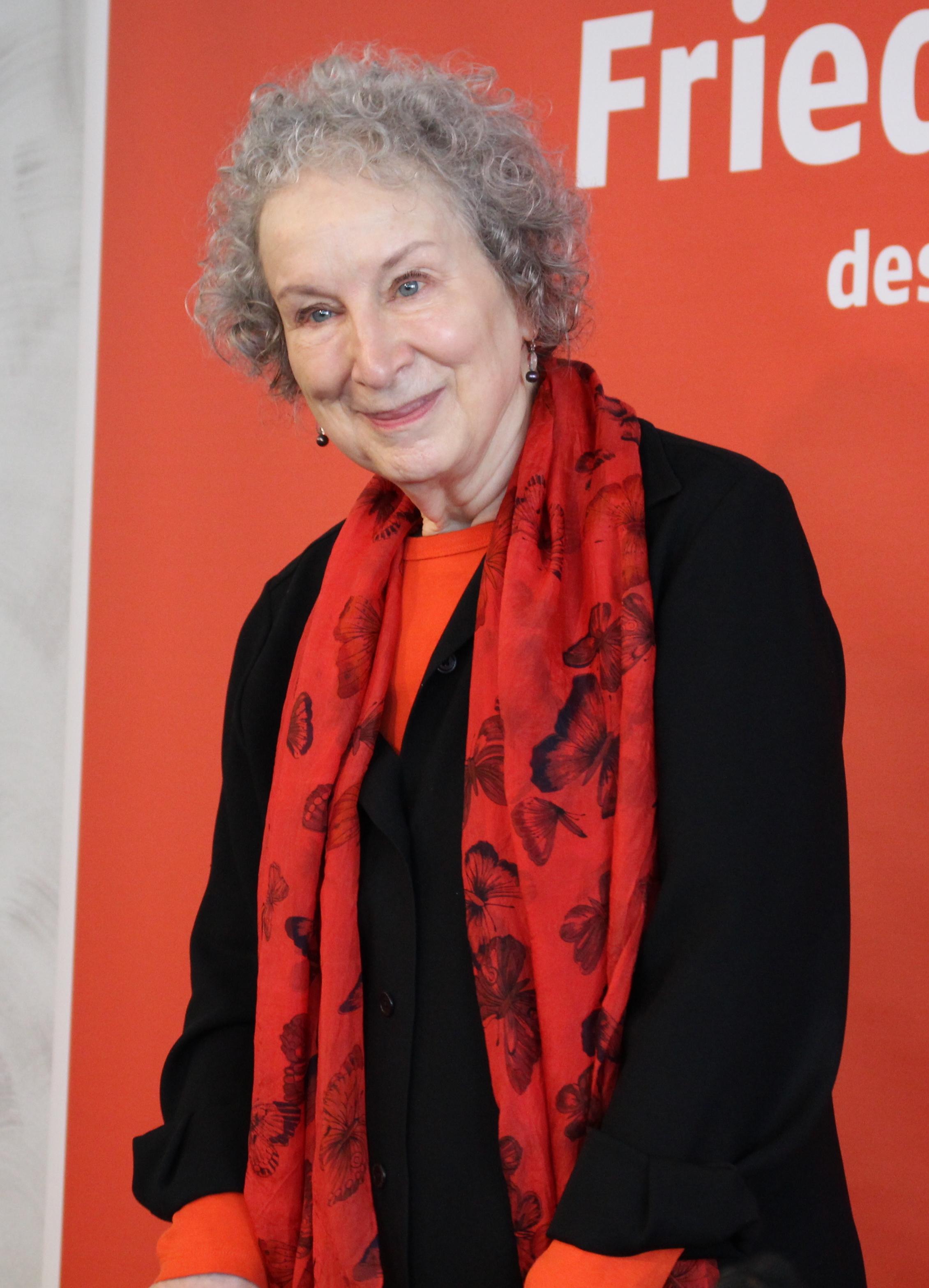 Atwood at the 2017 [[Frankfurt Book Fair]]
