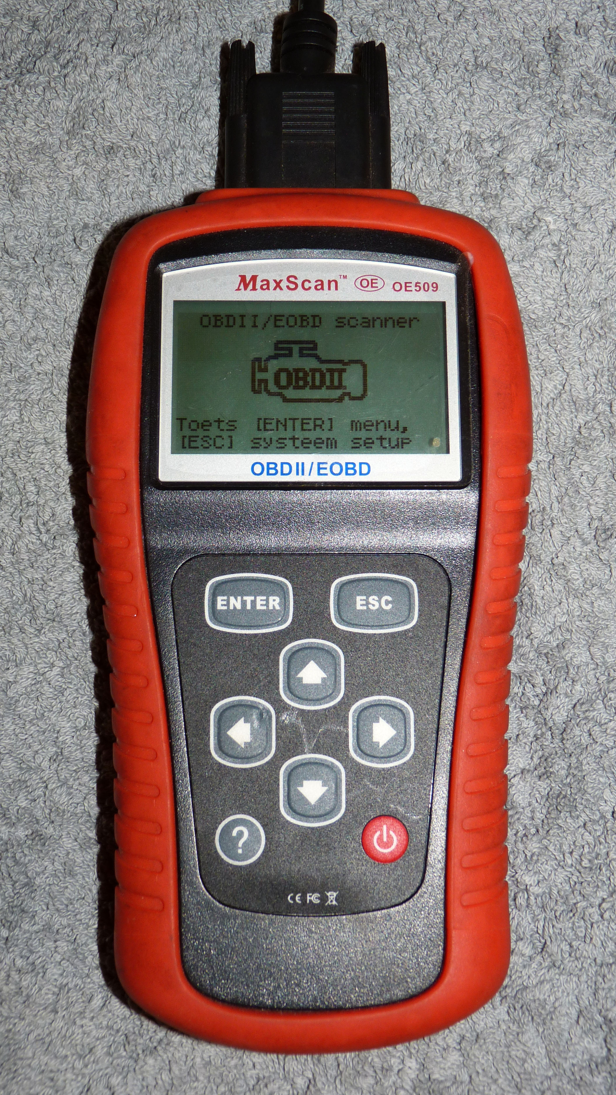 Code reader can reads codes, clear codes, and checks the status of some of the OBD2 monitors.