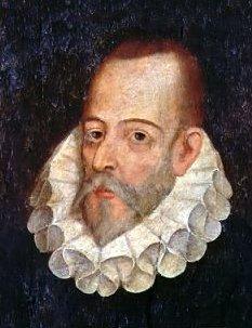 Miguel de Cervantes, schildering uit 1600 toegeschreven aan Juan de Jáuregui