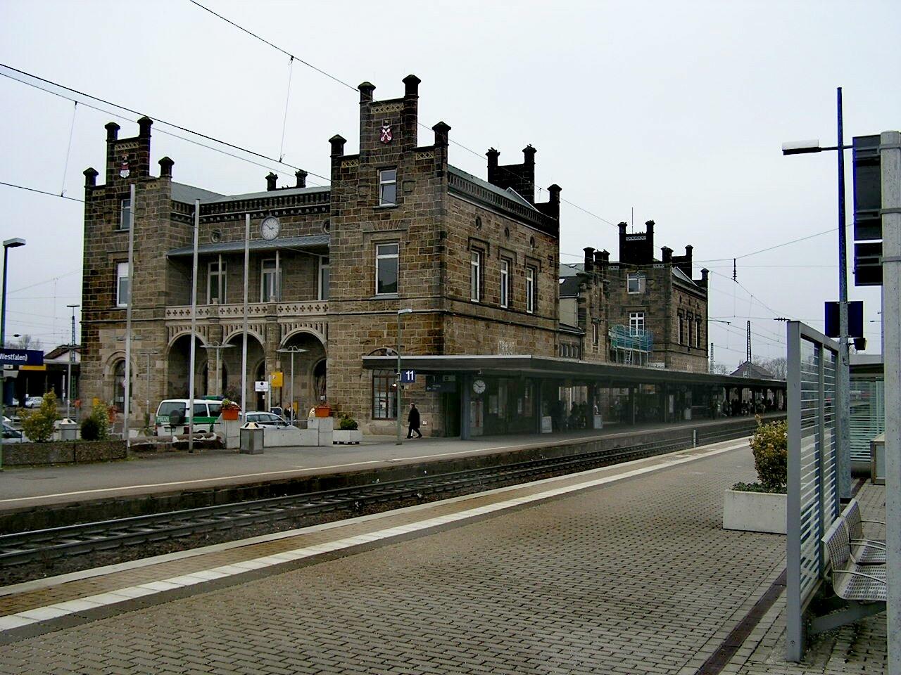 Minden Bahnhof