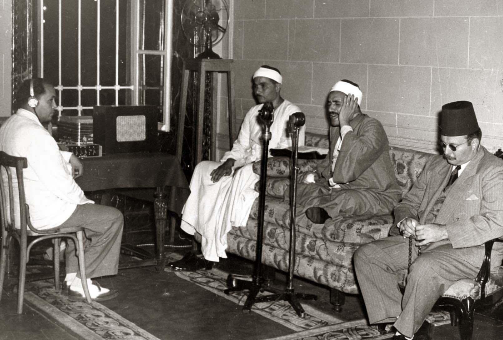 نتيجة بحث الصور عن الشيخ مصطفى إسماعيل+الملك فاروق