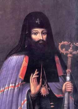 Святитель Петр Могила, митрополит Киевский. Свободное изображение Википедии Albedo-ukr