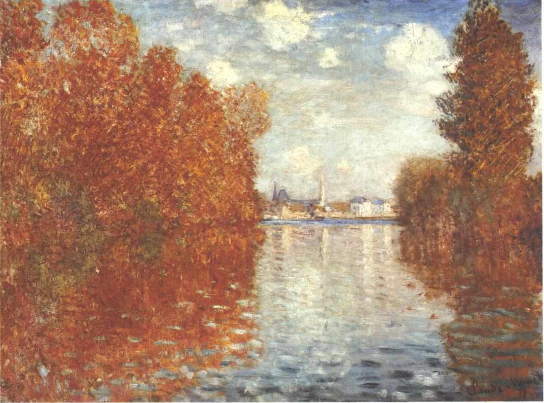 Claude Mo  Autumn Effect At Argenteuil on 1073 html