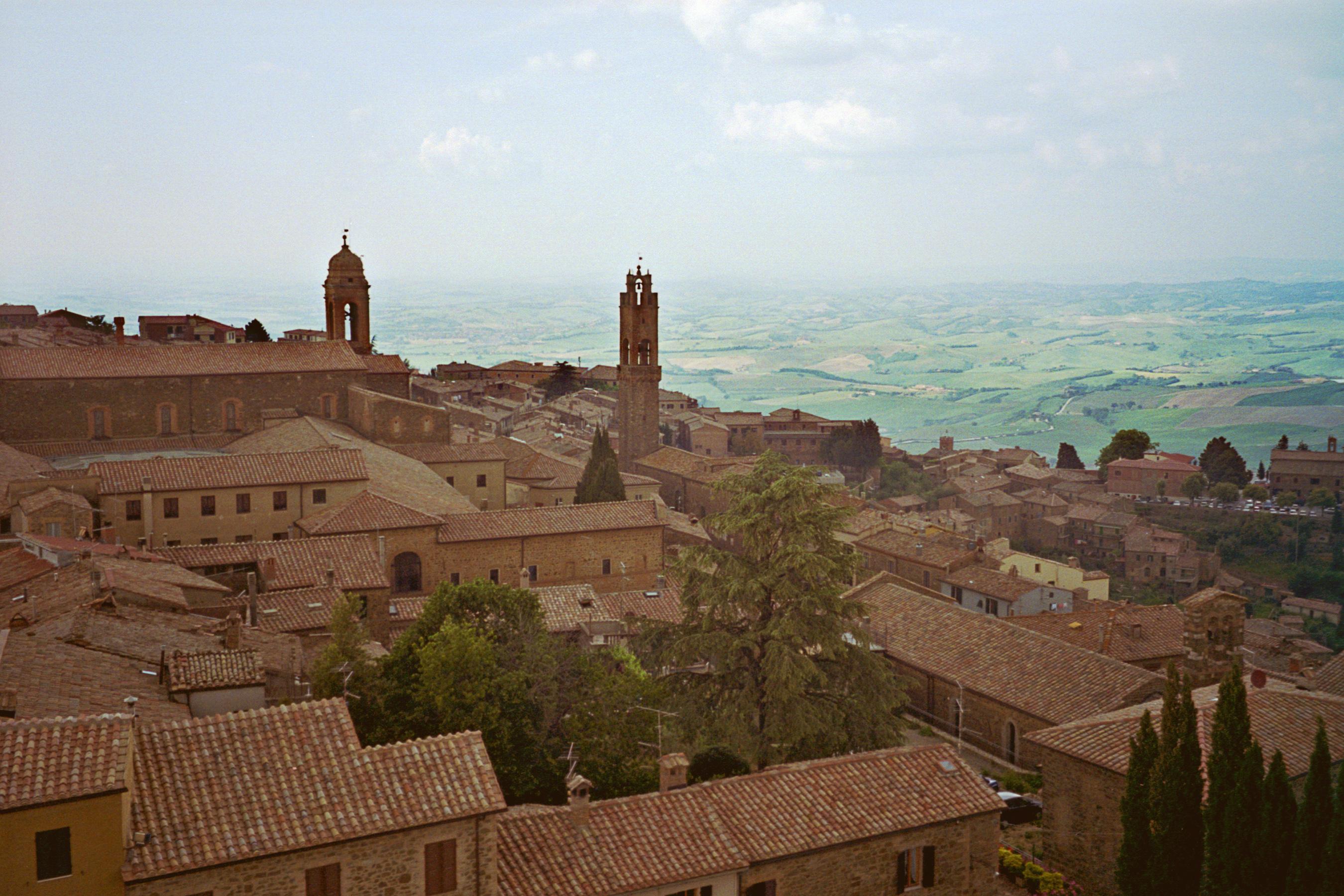 Montalcino, view