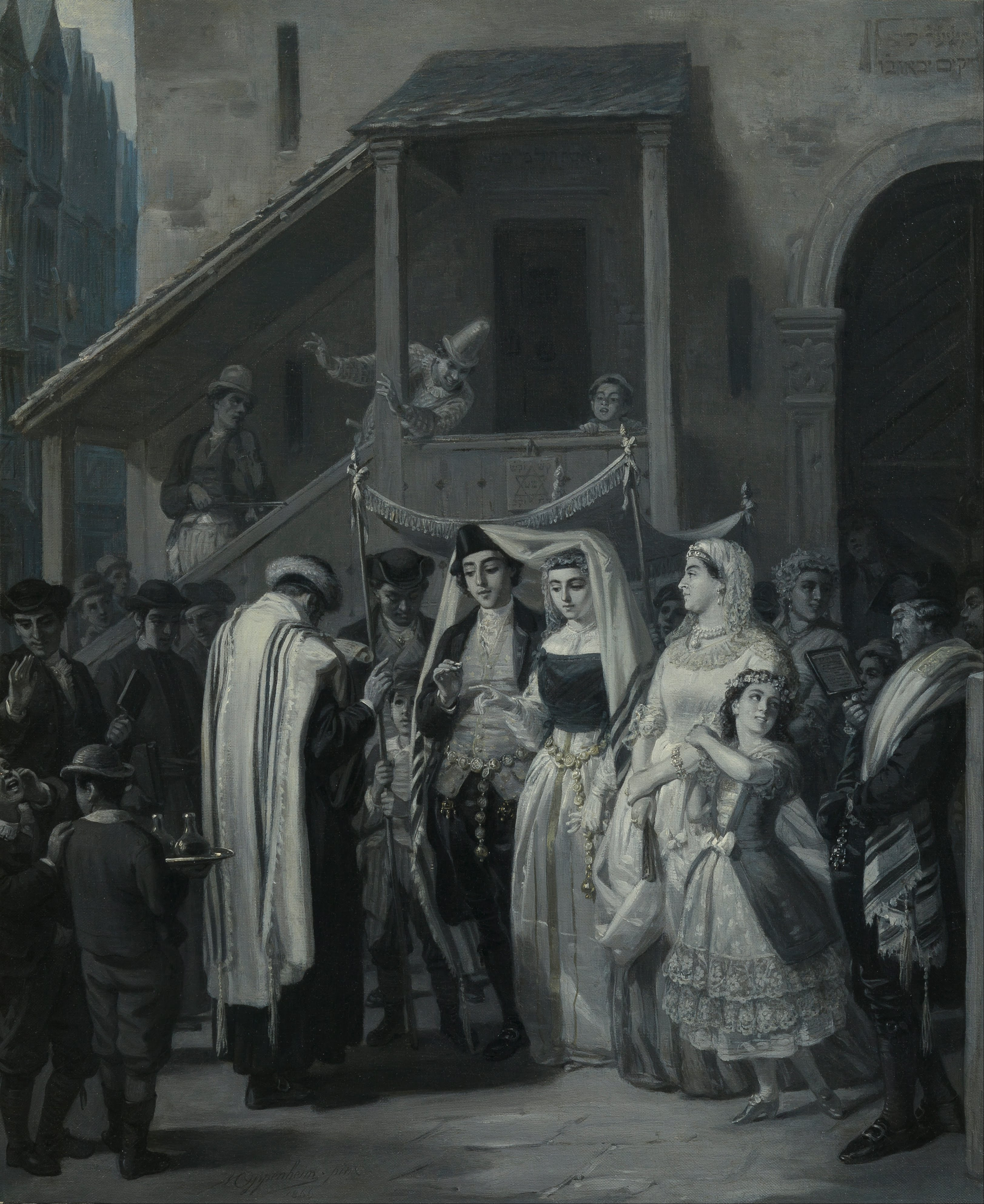Moritz Daniel Oppenheim - The Wedding (Die Trauung) - Google Art Project.jpg