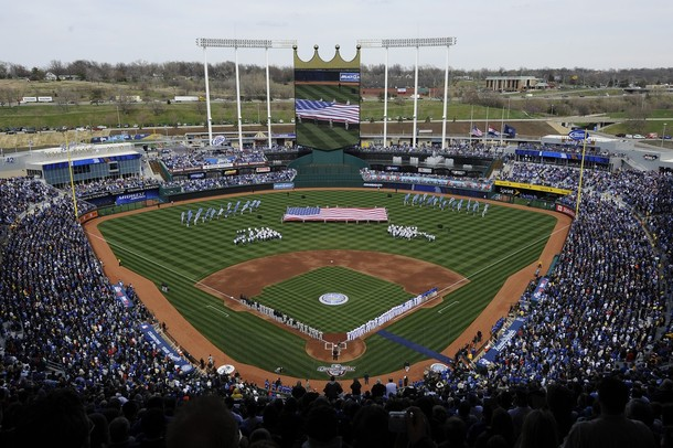 Section 103 At Kauffman Stadium Seat View