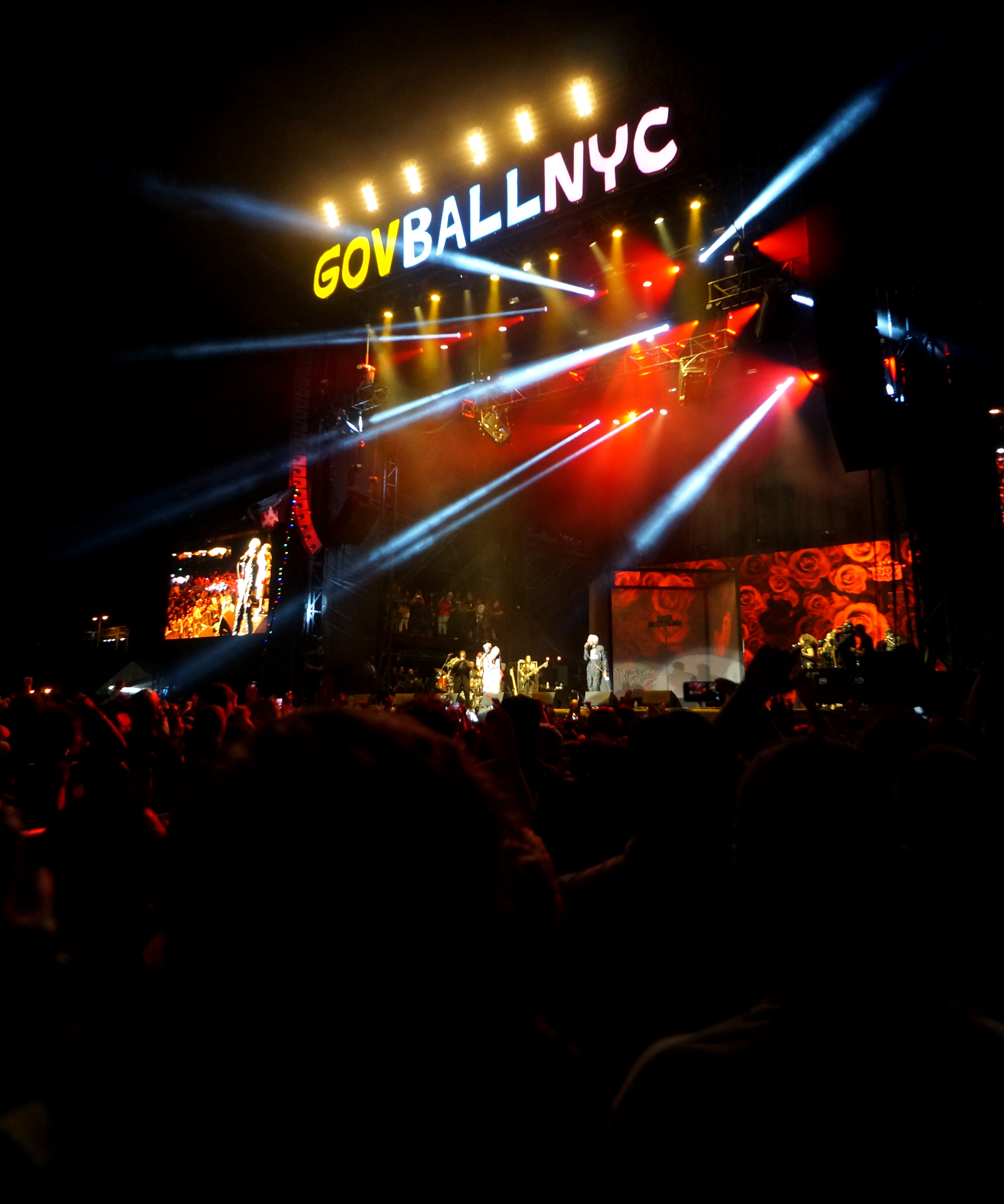 Outkast headlining at Governors Ball Music Festival.