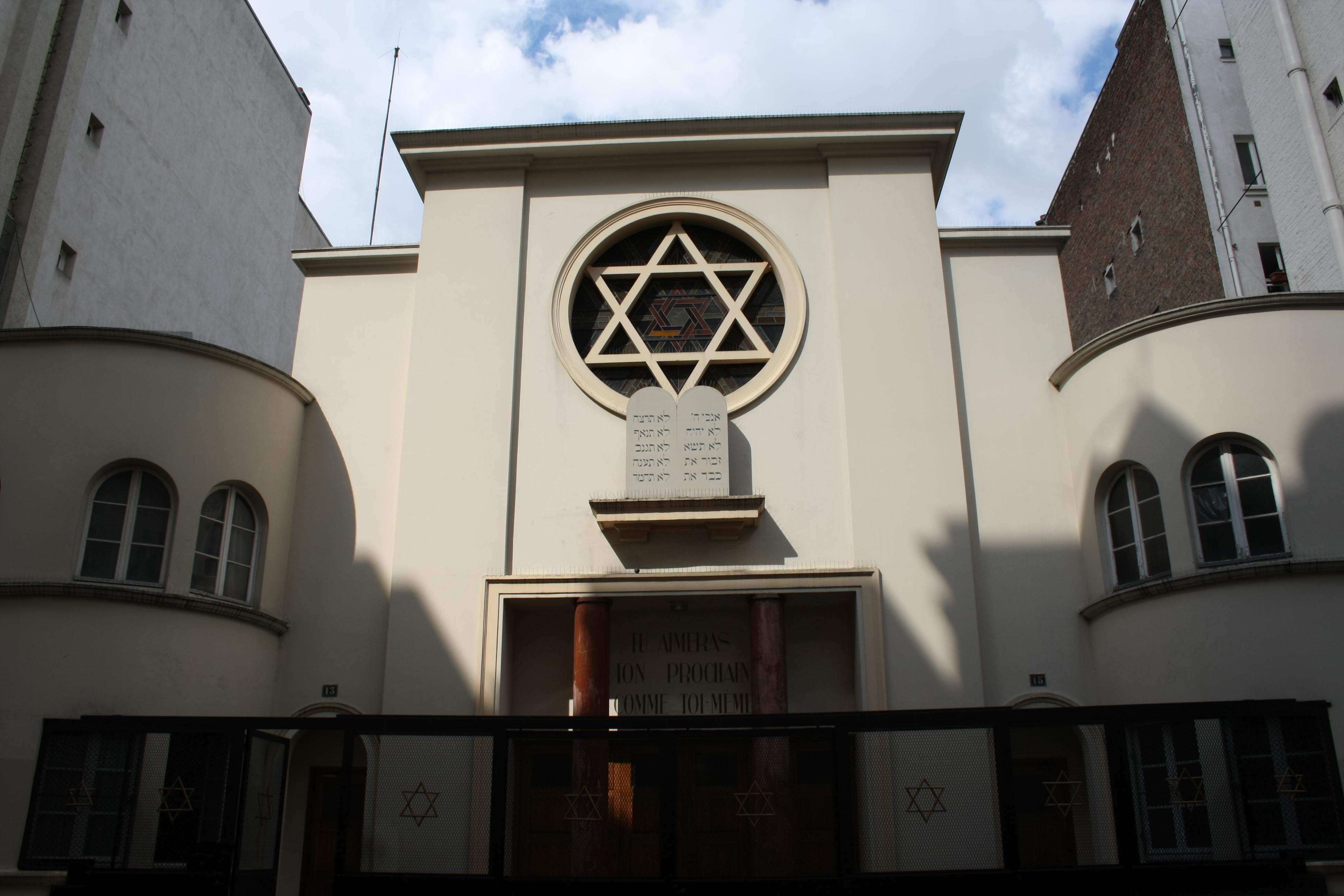 Synagogue de la rue Sainte-Isaure — Wikipédia