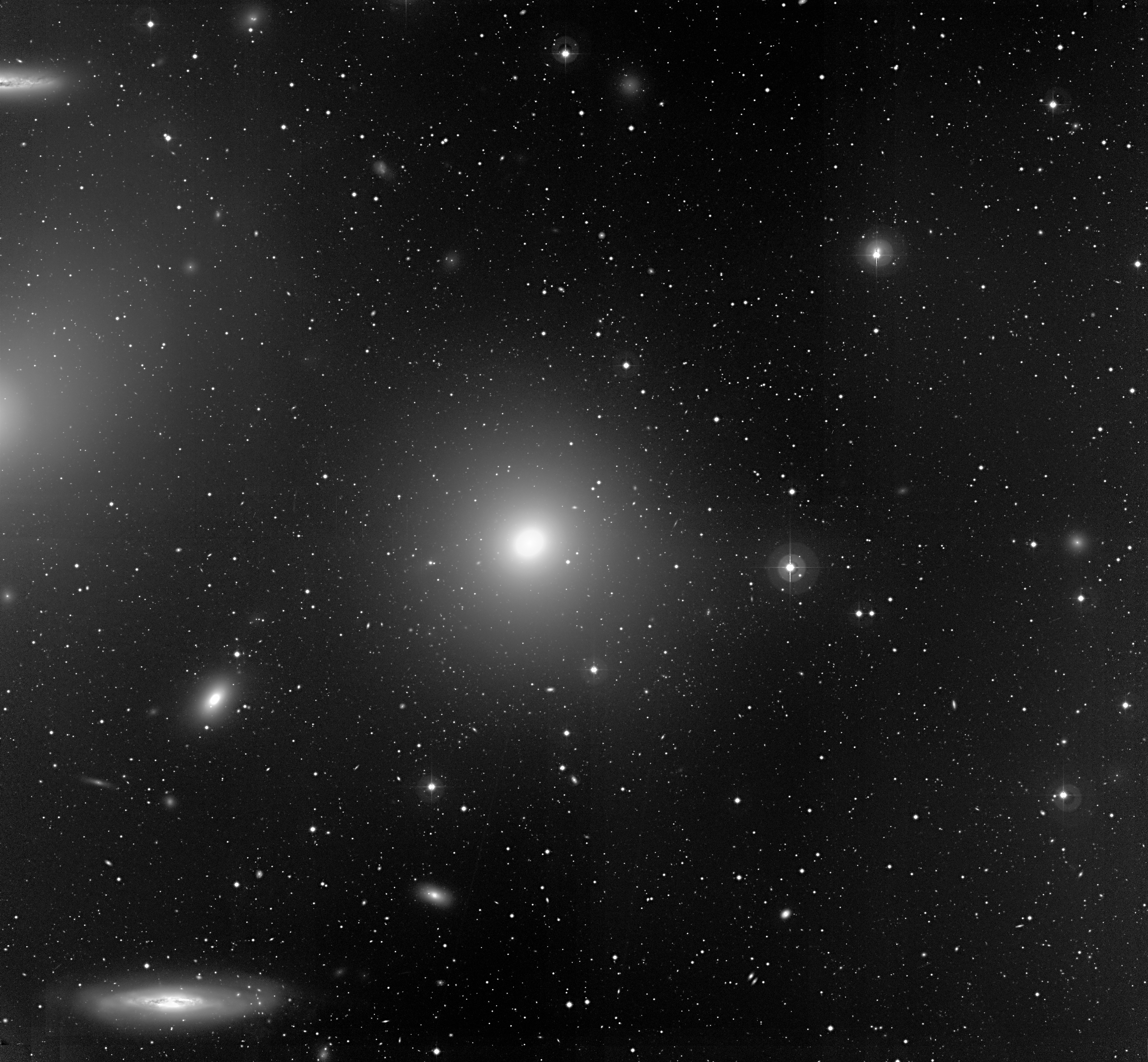 Depiction of NGC 4388