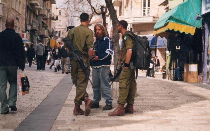 במדרחוב בירושלים