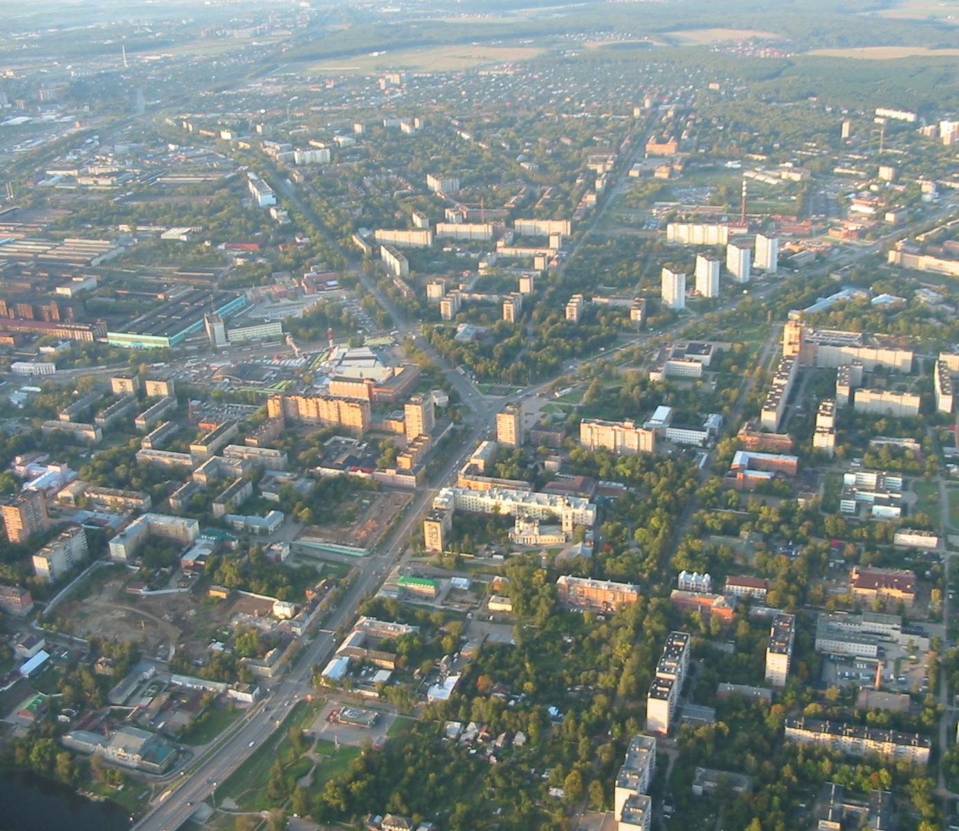 Город Подольск: климат, экология, районы, экономика ...