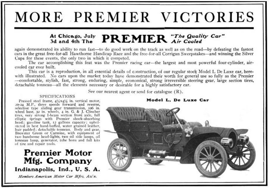 Premier Motor Manufacturing Company Wikipedia