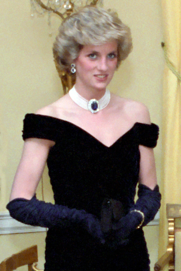 Lady Diana in 1985