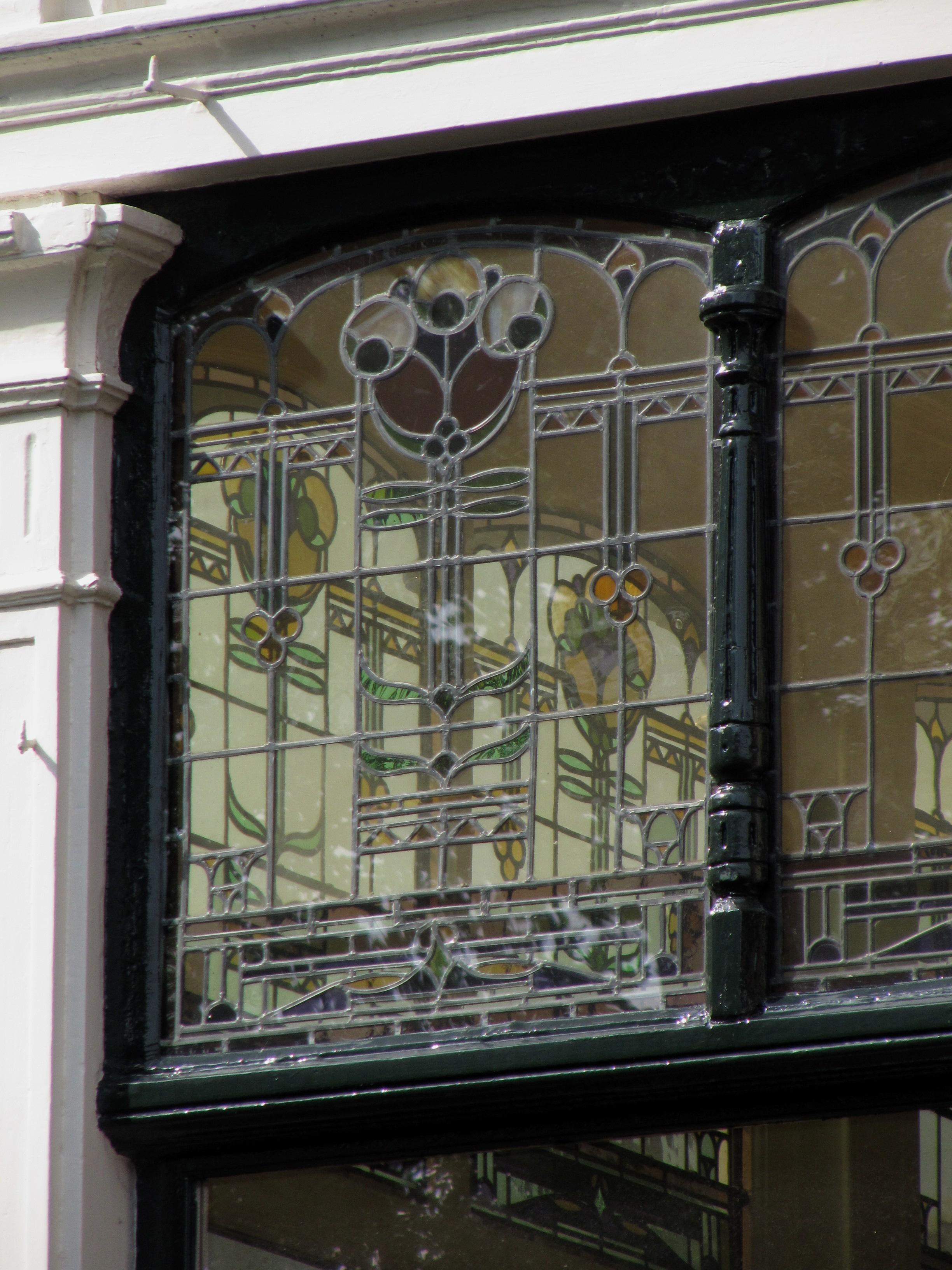 Glas Den Haag.File Rm461448 Den Haag Statenplein 21 Detail Glas In Lood Jpg