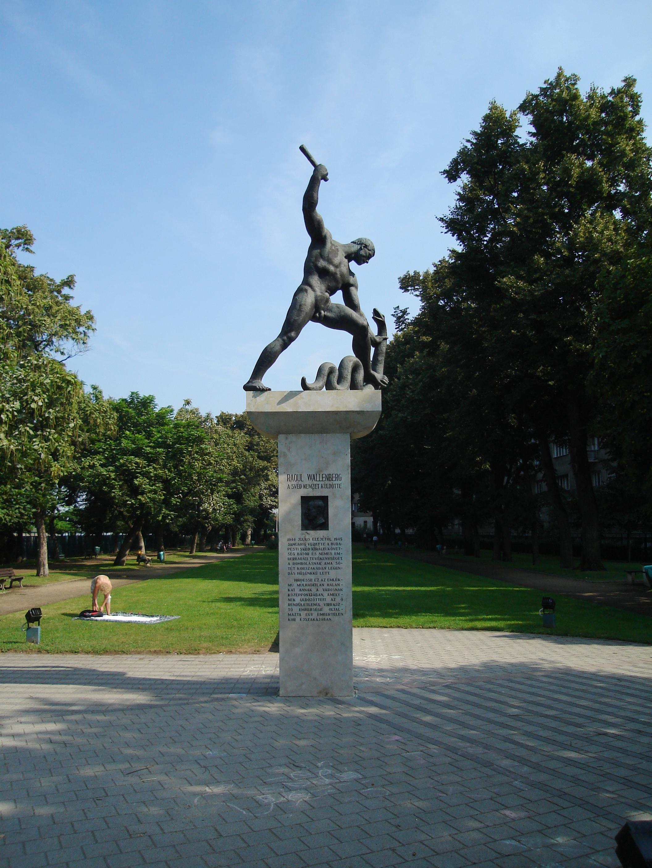 File Raoul Wallenberg Memorial In Budapest 13 1 Jpg