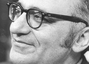 English: Close-up photo of Murray Rothbard