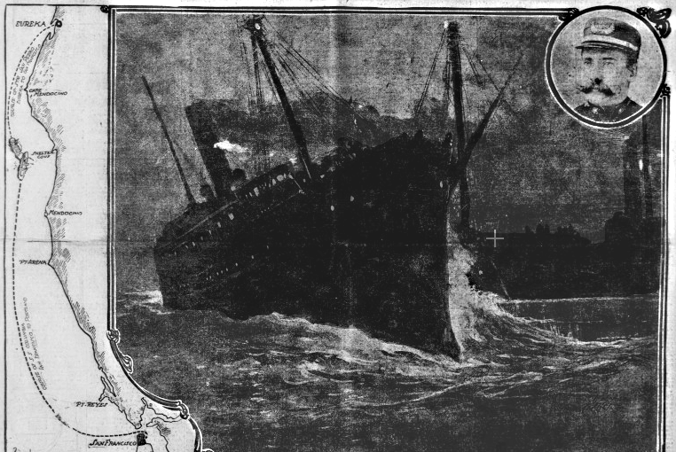 The heartwrenching collision which sank Columbia
