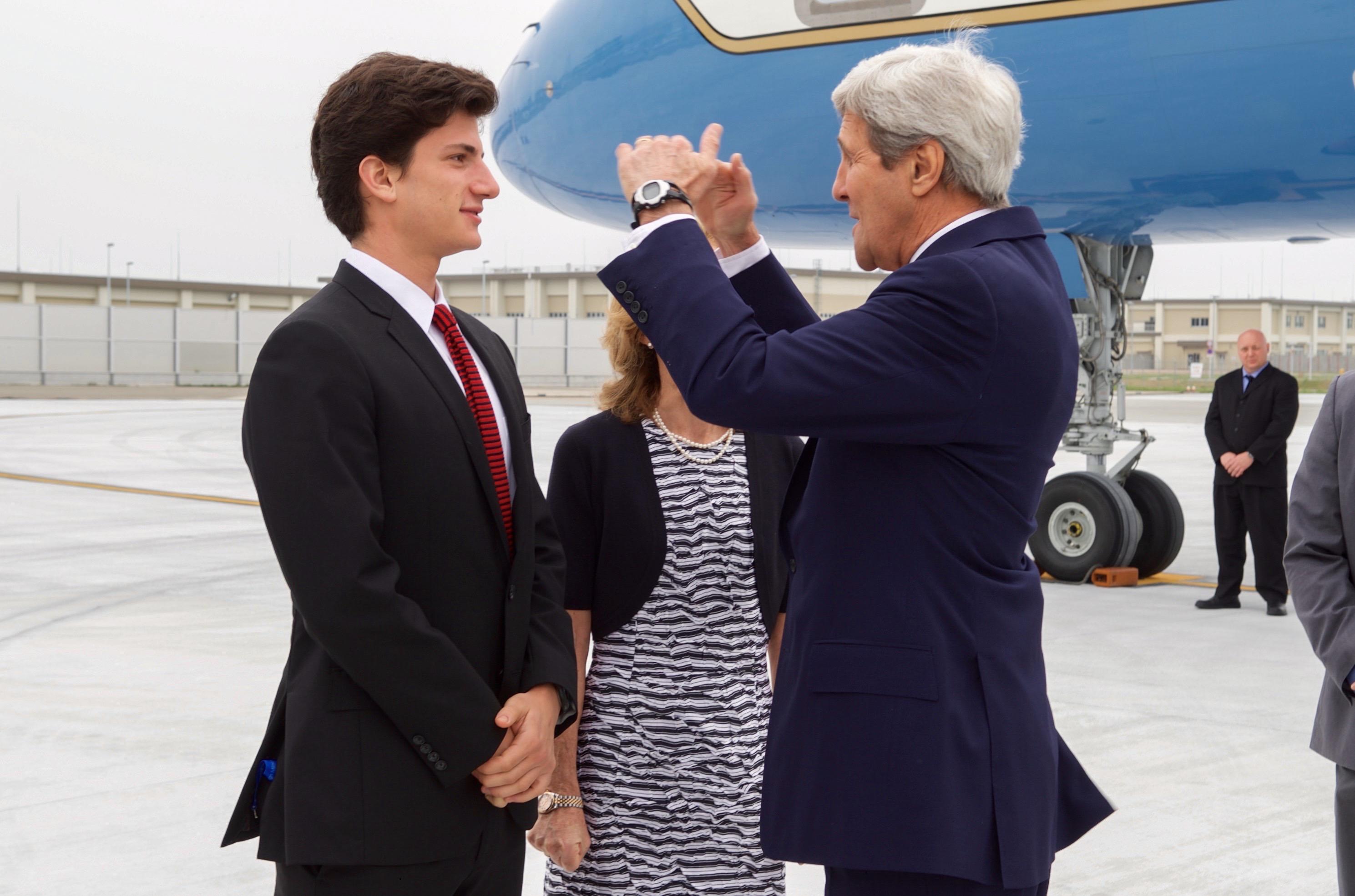 File:Secretary Kerry Chats With Ambassador Caroline ...