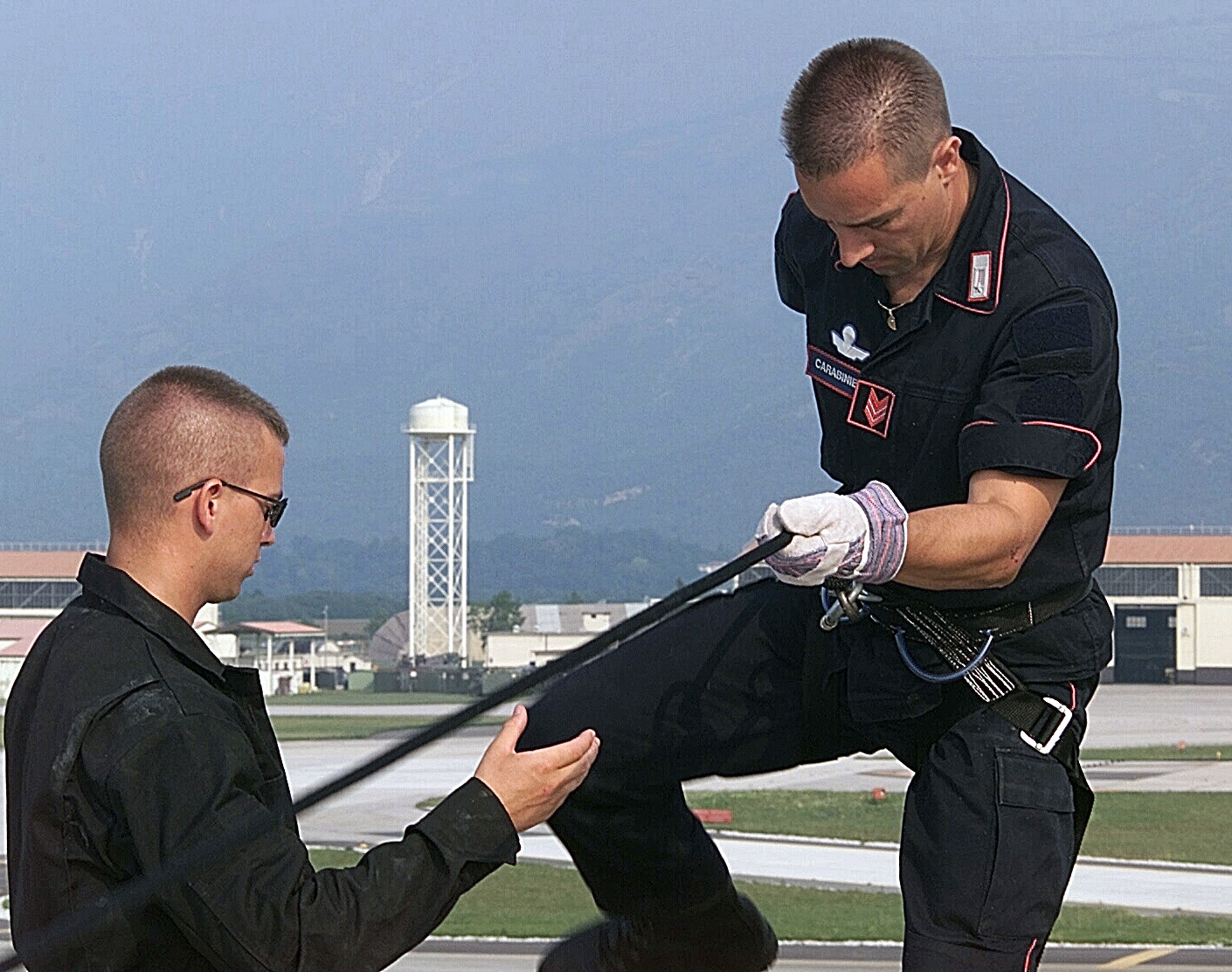 file senior airman shawn partington  usaf   left   31st