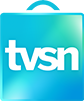 The TVSN shopping bag logo