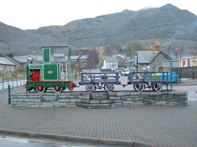 Slate Quarry Train, Blaenau Ffestiniog, Gwynedd - geograph.org.uk - 56440