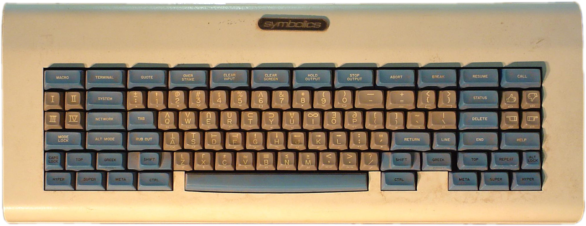 The Space Cadet keyboard