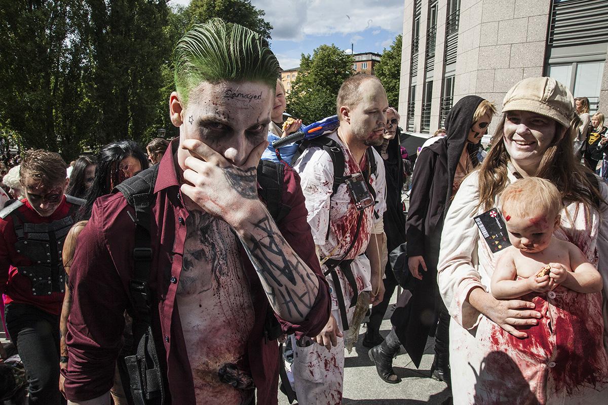 zombie walk stockholm