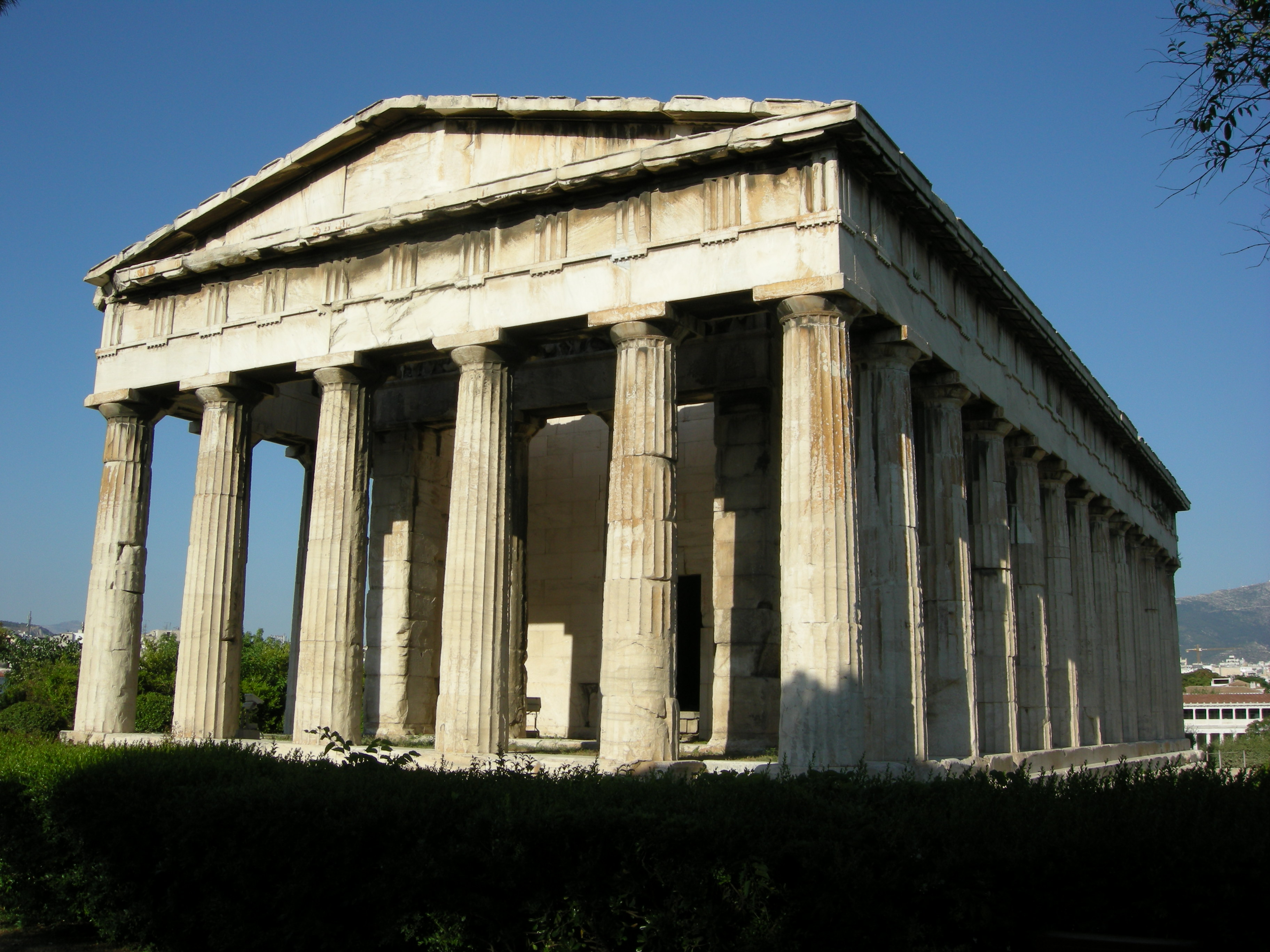 Temple of Hephaestus in Athens 02