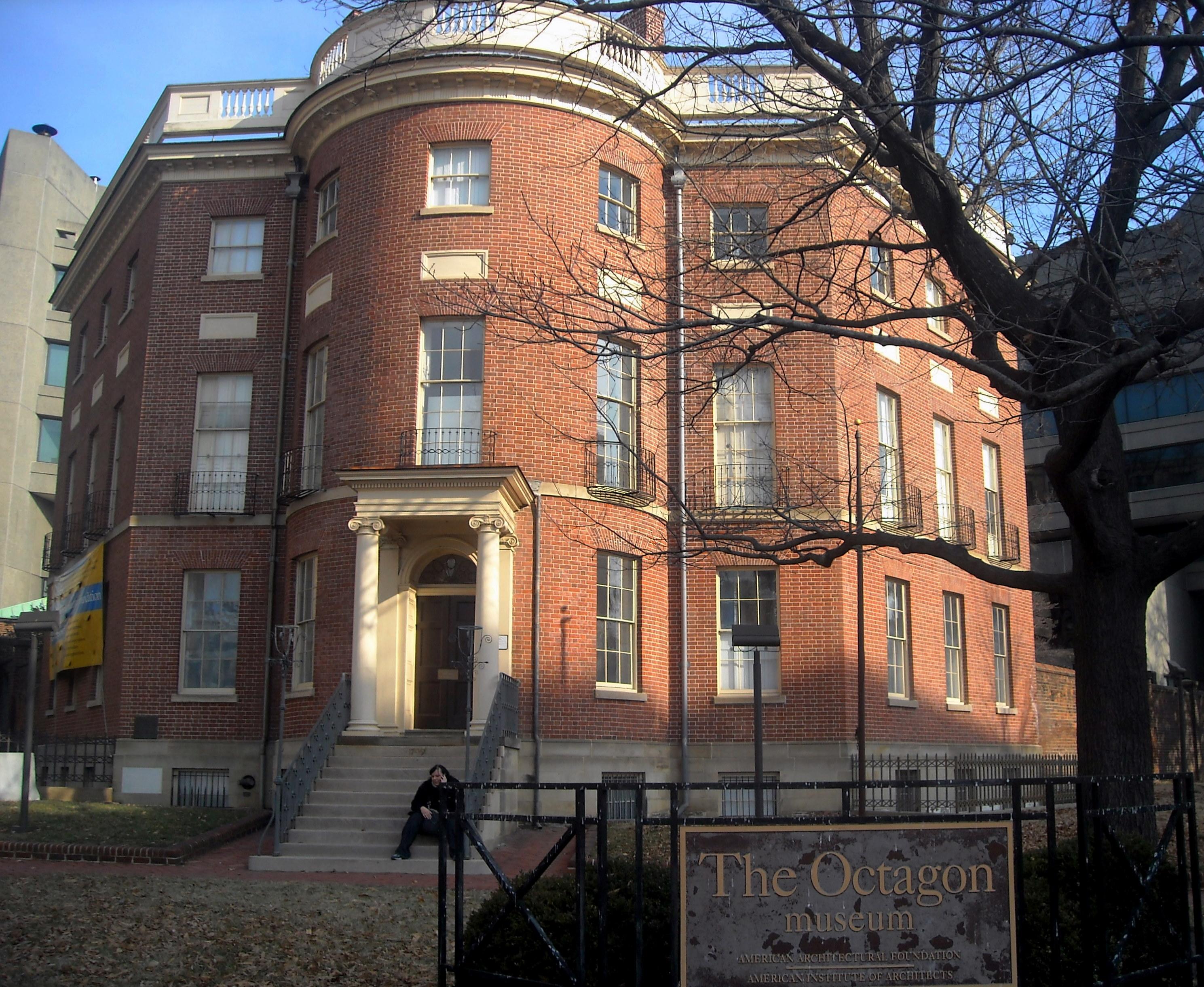 File The Octagon House Washington D C Jpg Wikimedia