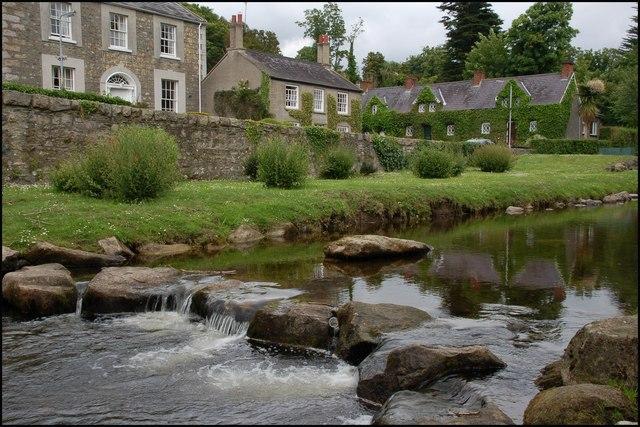 The Rostrevor River at Rostrevor - geograph.org.uk - 465019