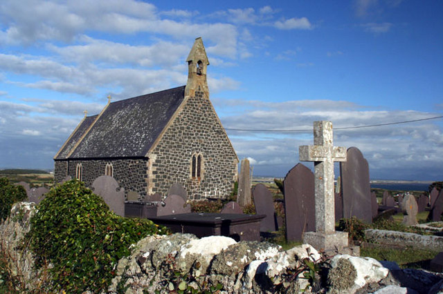 File:The cemetery and Church - geograph.org.uk - 1040479.jpg