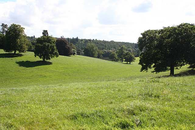 Towards the lake, Osmaston Park - geograph.org.uk - 1348202