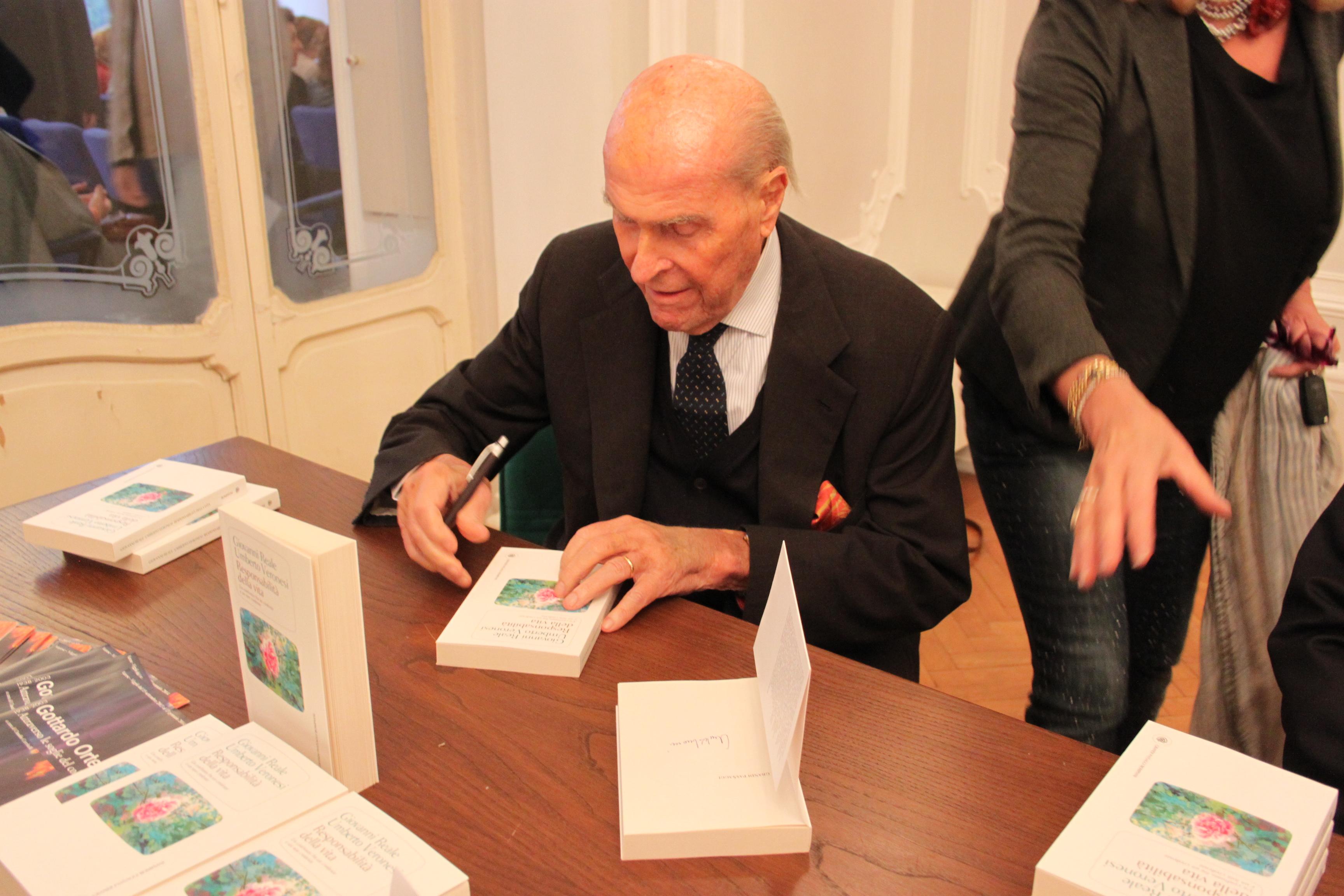 Umberto Veronesi, 2013