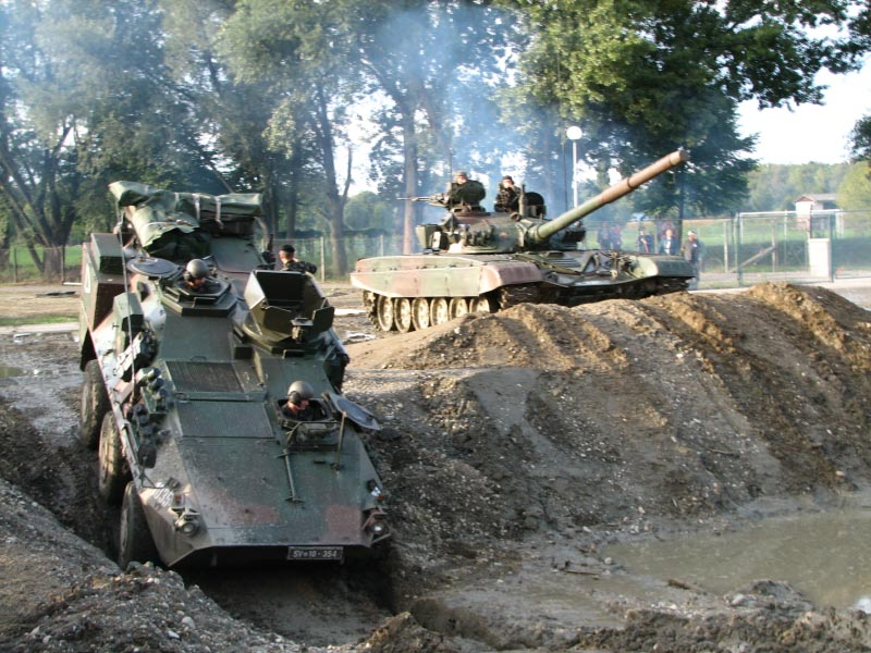 Valuk and T-55