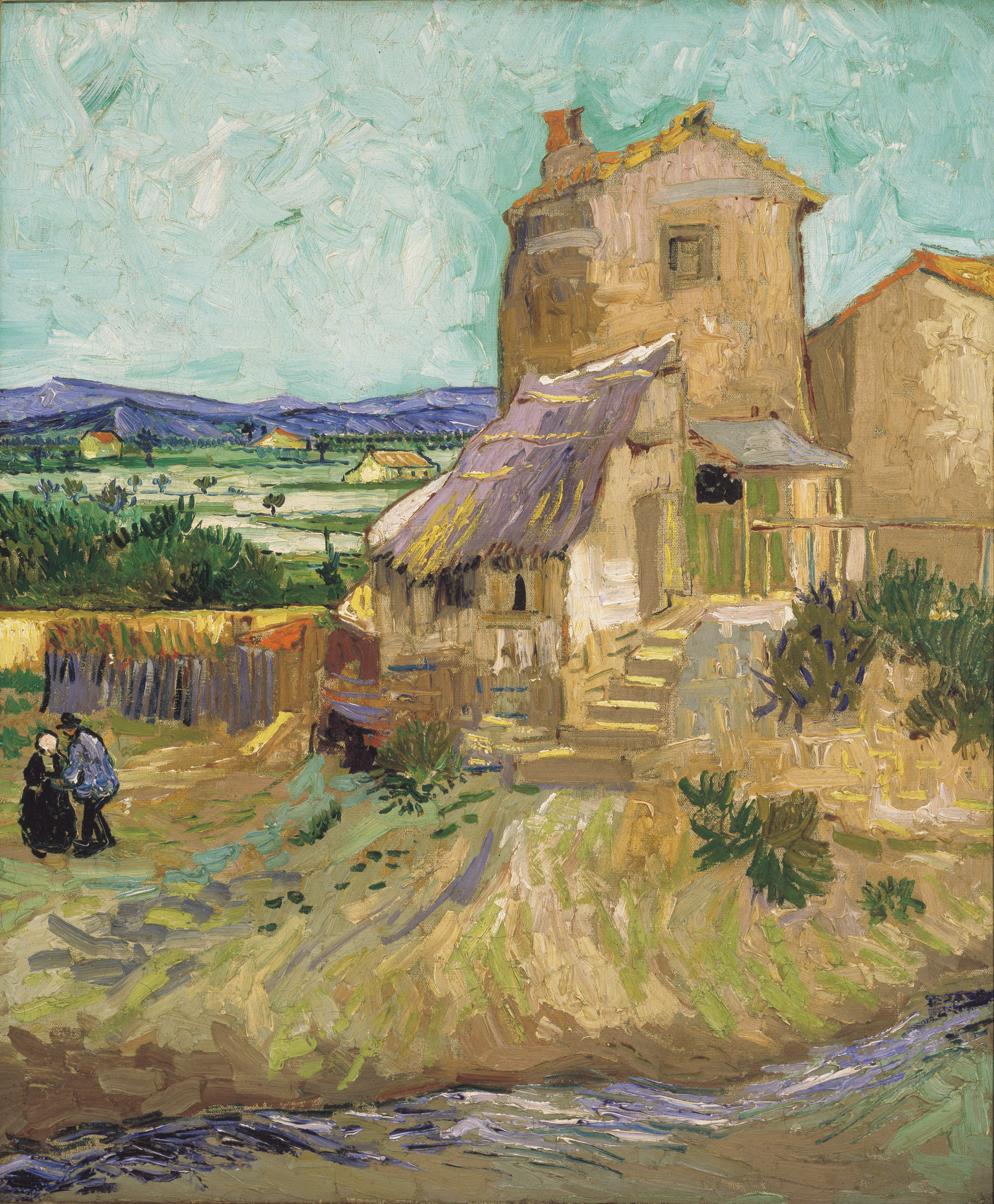 File Vincent Van Gogh 1853 1890 The Old Mill 1888
