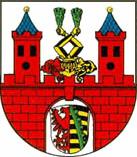 Das Wappen von Bernburg (Saale)