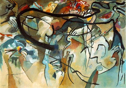 Wassily Kandinsky, Komposition V, 1911