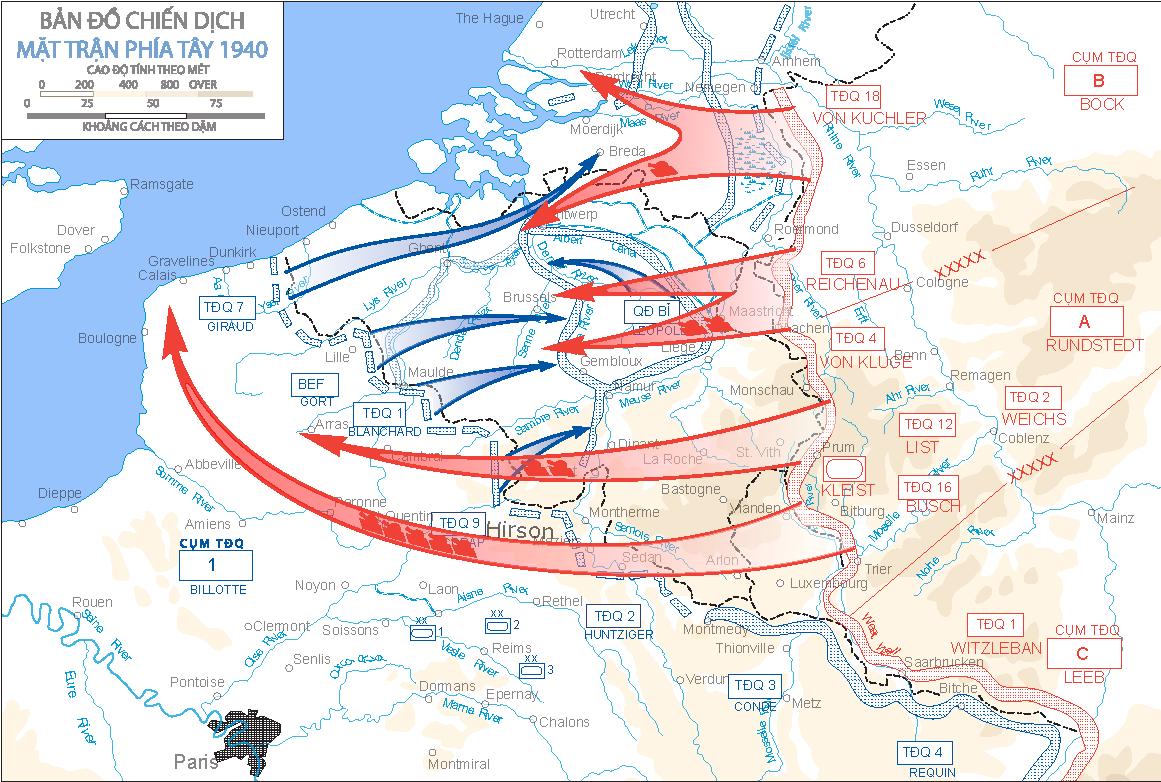 В этот день Гитлер решил взять реванш - по Манштейну,а не по Шлиффену, но не