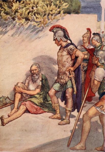 William Rainey, Alexander and Diogenes