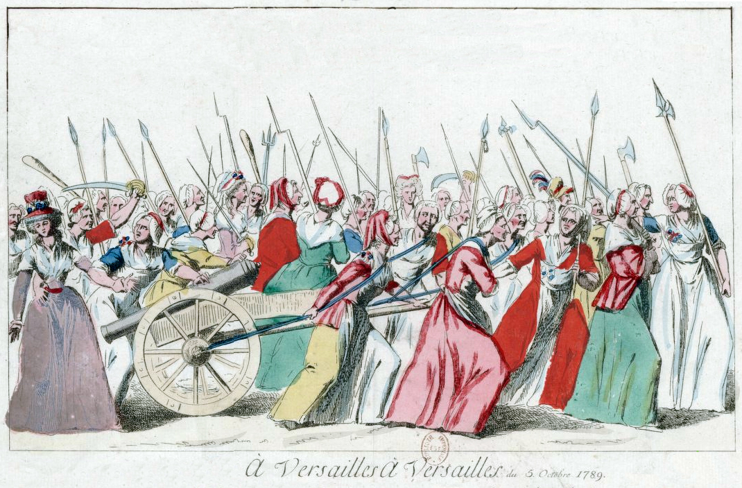 role of women during the french revolution counsel s french   upload org commons 4 47 women %27s on versailles02 jpg
