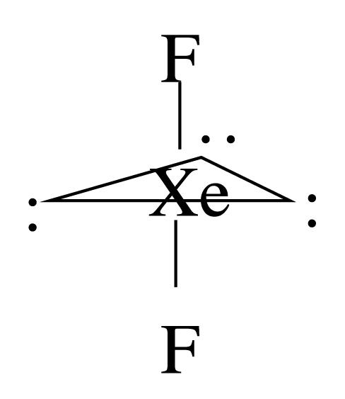 Description XeF2 geometry jpgXef2