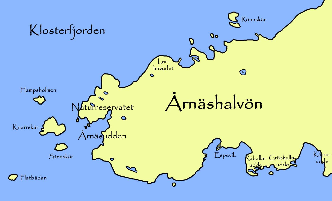 årnäshalvön karta Fil:Årnäshalvön map.png – Wikipedia årnäshalvön karta