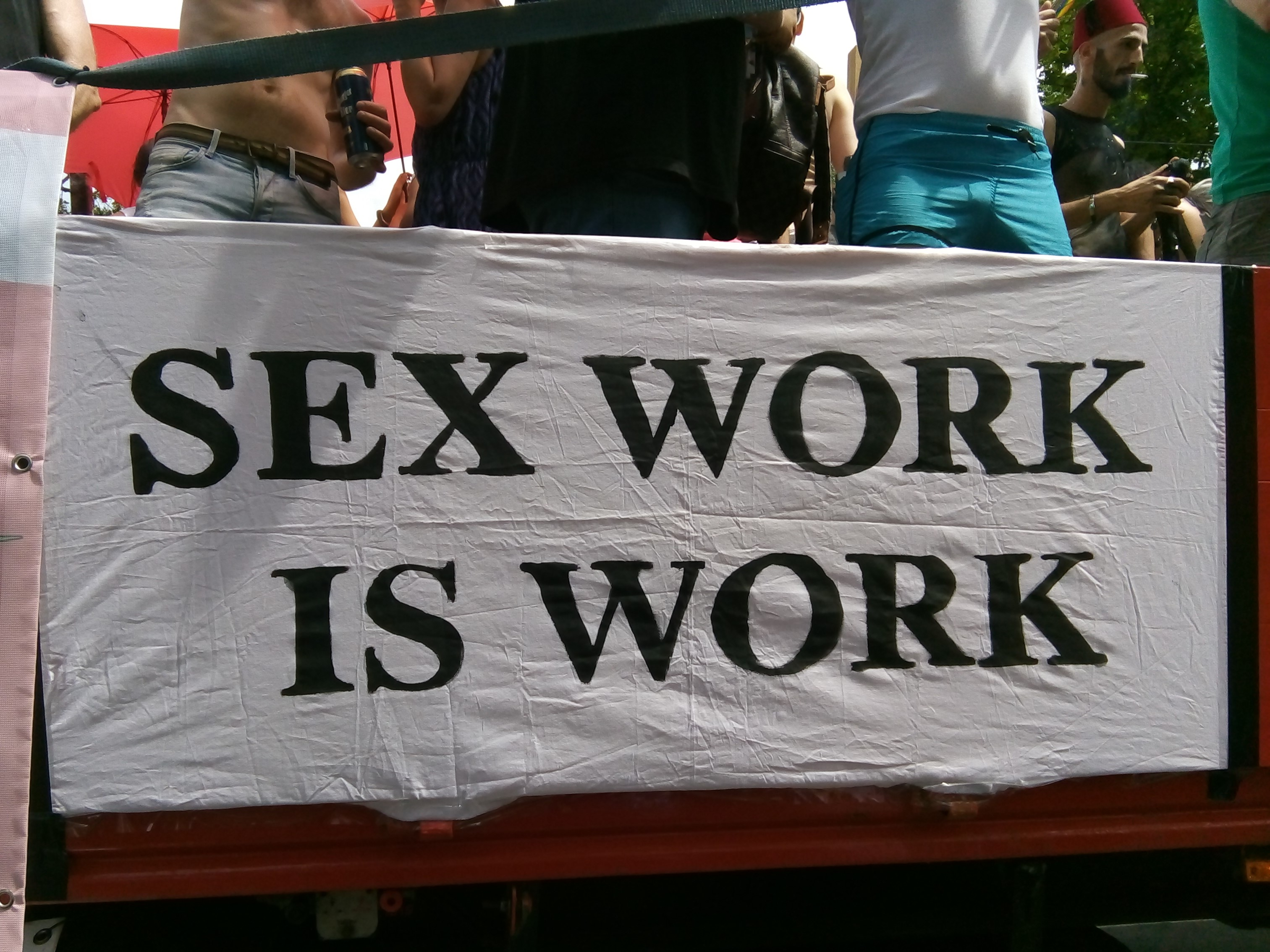 I, the copyright holder of this work, hereby publish it under the following license: English Sex work is work