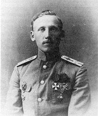 Luitenant I.S. Bashko, een van de vliegers van de Ilja Moeromets