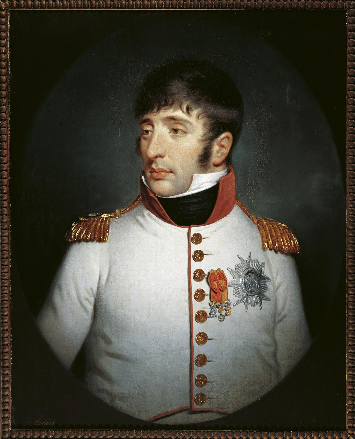 Portret al lui Louis Bonaparte de Charles Howard Hodges, 1808