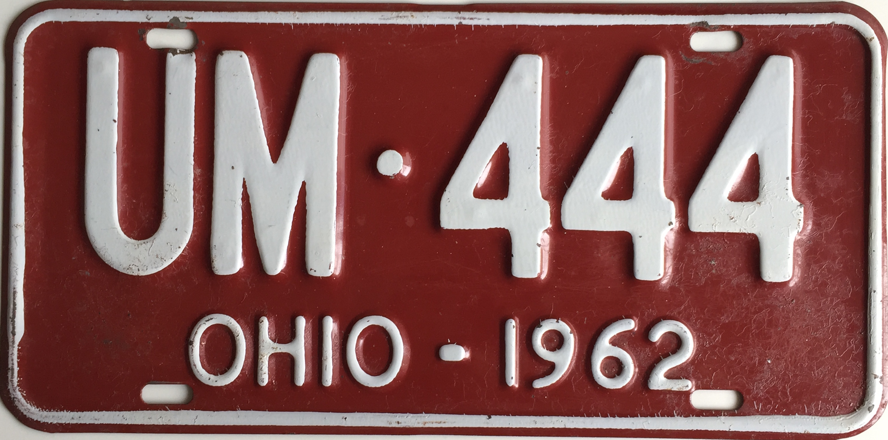File:1962 Ohio license plate.JPG - Wikimedia Commons
