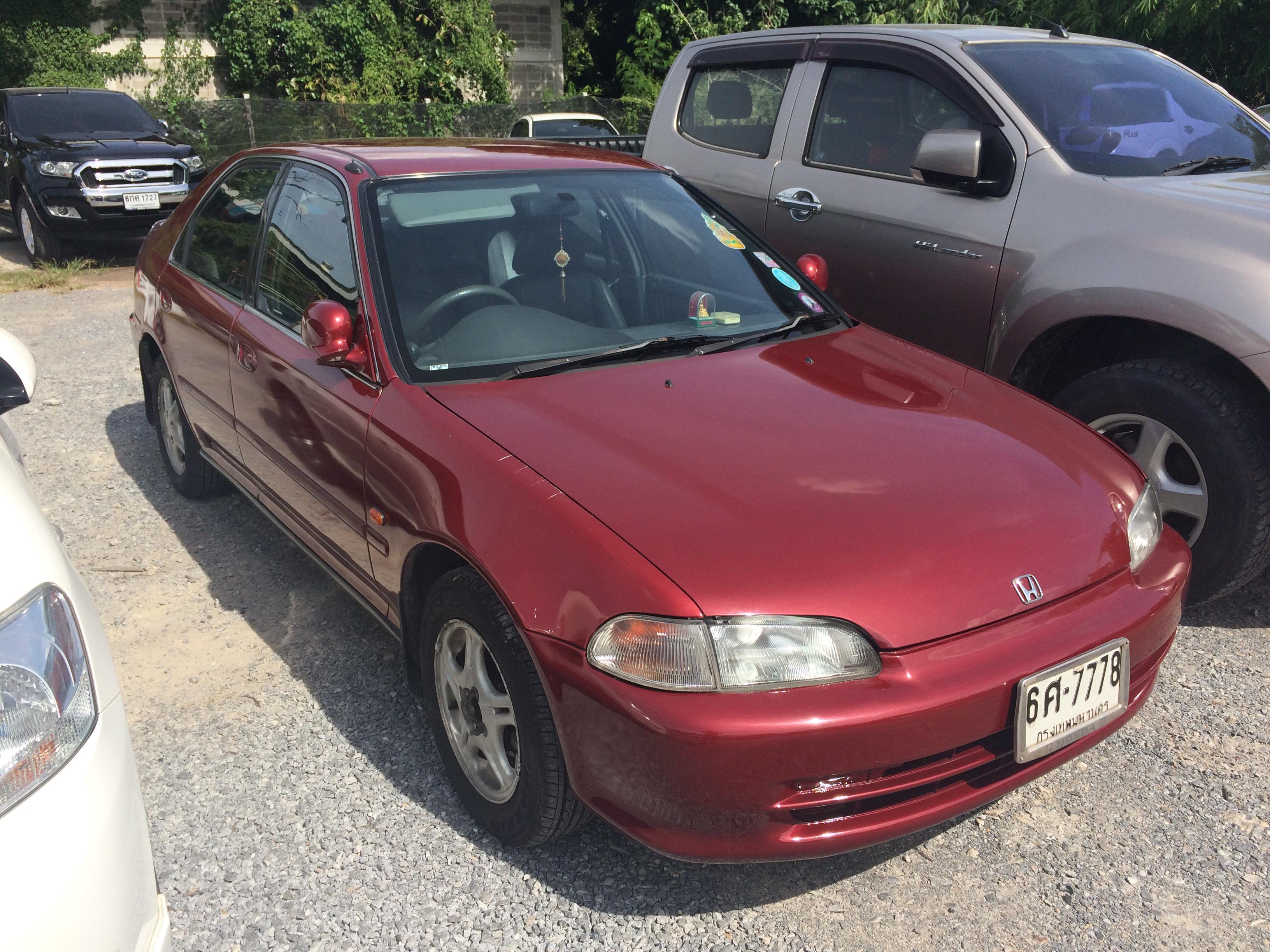 File 1994 1995 Honda Civic Eg Vti E Sedan 12 08 2017 02 Jpg Wikimedia Commons