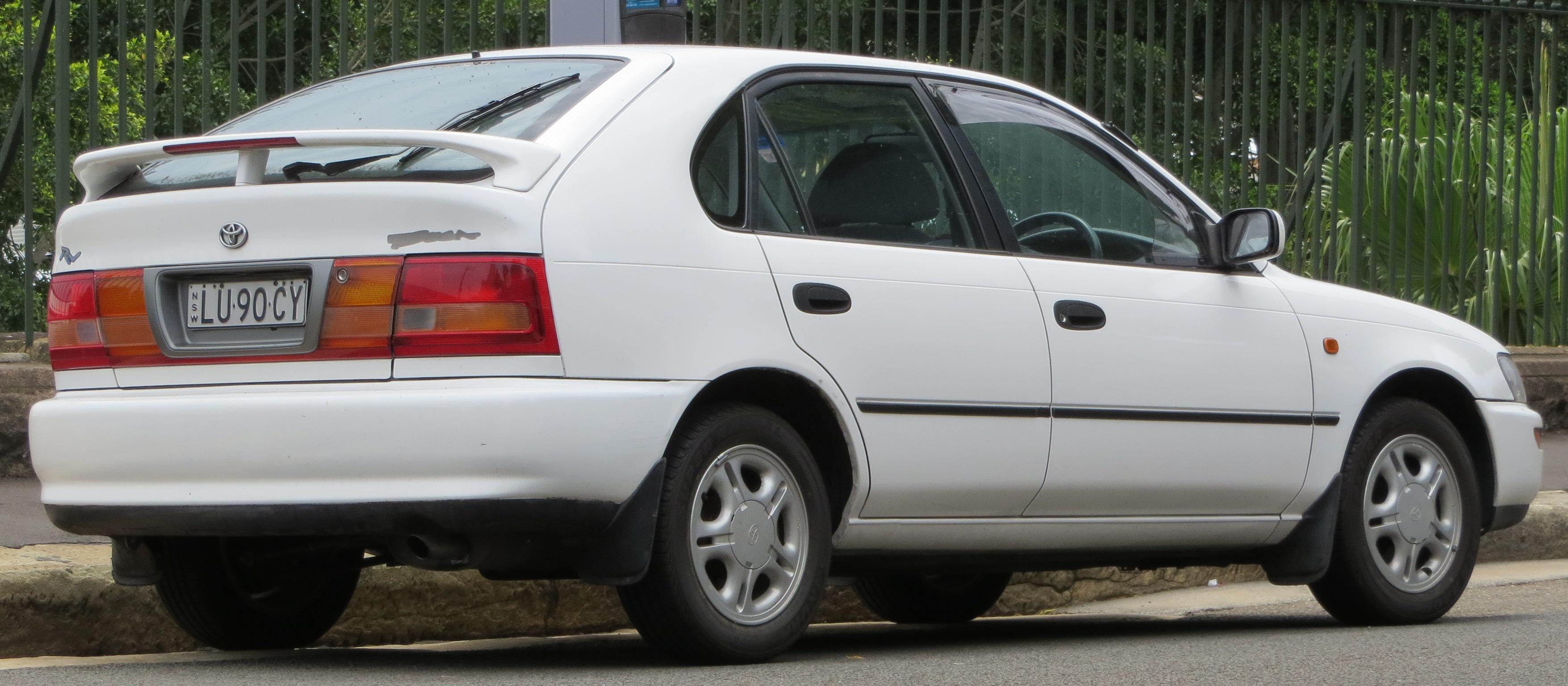 File 1998 Toyota Corolla Ae102r Rv Seca 5 Door Hatchback